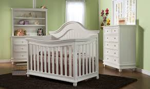 Crib On Bed by Bedroom Design Nice White Munire Crib On Black Shag Rugs And