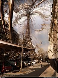 Large Eiffel Tower Statue Art Archives