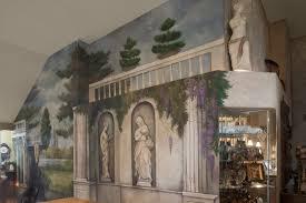 nicolette atelier a bespoke mural graphics studio italian garden fresco