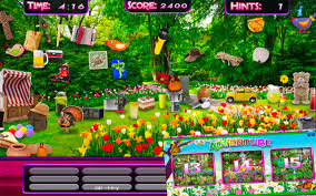 amazon com hidden object u2013 spring gardens u0026 objects time easter