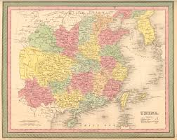 Cary Map Antique Maps Of China