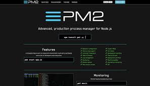 node js quick tutorial advanced node js process management with pm2 dzone web dev