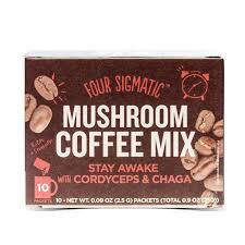 Coffee Mix four sigmatic coffee mix with cordyceps chaga 10