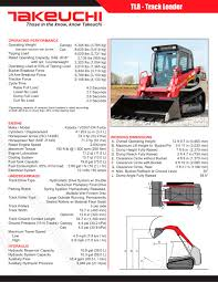 tl8 takeuchi construction machinery pdf catalogue technical