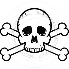 skull and bones coloring pages
