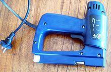 Upholstery Electric Staple Gun Staple Gun Wikipedia