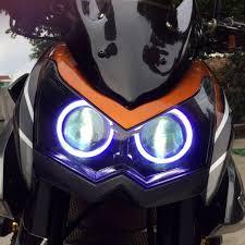 angel eye hid projector headlight assembly kawasaki z1000 2010 2013
