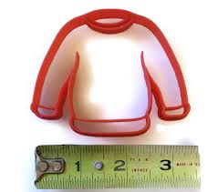 sweater cookie cutter sweater cookie cutter things4thinkers