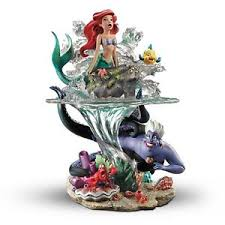 bradford exchange disney mermaid