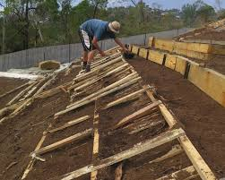 using timber pallets in your garden good life permaculture