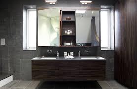 Stunning Contemporary Dark Wood Bathroom Vanity Home Design Lover - Designer bathroom cabinets