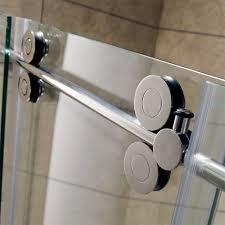 vigo winslow 36 x 60 in frameless sliding shower enclosure with