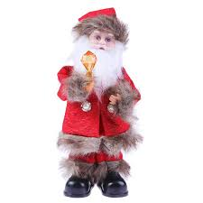 electric santa claus toys for home singing santa claus
