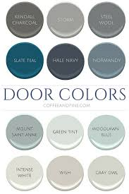 Interior Door Color Interior Door Colors Coffee And Pine