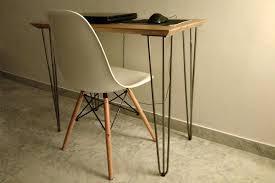pied de bureau bois bureau metal bois grand bureau mal bureau vintage metal et bois