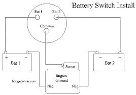 guest battery switch wiring diagram unique marine battery switch