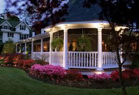 wrap around patio victorian with orlando outdoor lighting fence