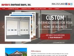 Overhead Door Jacksonville Fl Burden S Overhead Doors Garage Doors Jacksonville Fl