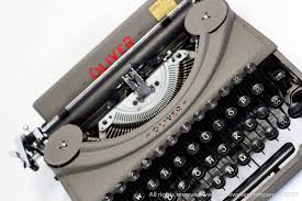 working manual typewriter for sale sale mint condition oliver typewriter type 4 working