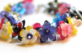flower beaded bracelet images How to make a lucite flower bracelet emerging creatively jewelry jpg