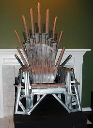 Skull Adirondack Chair Build Your Own Iron Throne Technabob