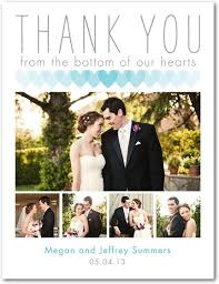 thank you card innovation design photo wedding thank you cards