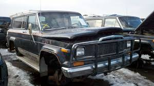 jeep chief 1979 junkyard find 1979 jeep cherokee golden eagle the truth about cars