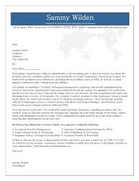 cover letter sample administrative sample cover letter