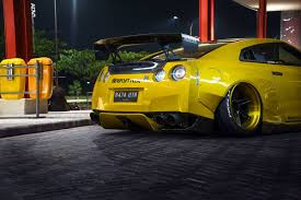 nissan gtr wide body featured fitment rocket bunny nissan gt r with adv 1 wheels