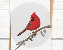 bird card etsy