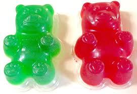 amazon com giant gummy bear mold 3 pack of large gummy bear