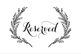 printable reserved table signs reservation sign template ivedi preceptiv co
