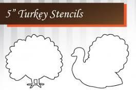 free turkey stencil printable 247moms thanksgiving