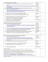 volume area perimeter interactive student worksheet