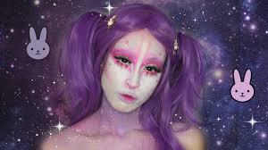 Cleopatra Makeup Tutorial Halloween Costume Ideas Youtube Kawaii Space Bunny Halloween Makeup Tutorial Halloween