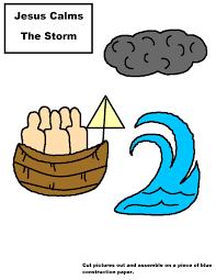 jesus calms the storm clip art clipart collection