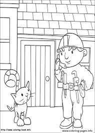 bob builder 06 coloring pages printable