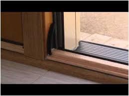 Sliding Patio Door Reviews by Sliding Glass Door Bottom Seal Reviews A Flash Of Art