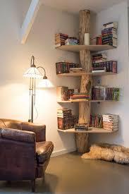 Natural Wood Bookcases Best 25 Wooden Shelves Ideas On Pinterest Shelves Corner