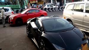 lamborghini car owners in chennai lamborghini bentley spotted in chennai
