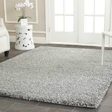 Solid Grey Rug Jonathan Shag Silver Area Rug U0026 Reviews Allmodern