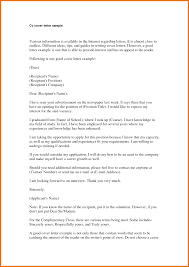 model cover letter sample samples cover letters livecareercom