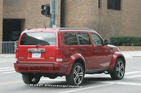 dodge nitro srt 8 spy shots photo gallery autoblog