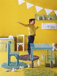Yellow And Blue Decor Ideas For Kids Rooms Yellow Color For Happy Kids Rooms Decor