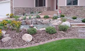 Rocks In Garden Design Rock Garden Ideas For Front Yard Amazing Landscaping Ideas With