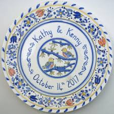 60th wedding anniversary plate wedding anniversary personalised plate painted plates