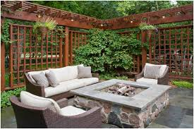 Outdoor Sitting Area Backyards Gorgeous Backyard Privacy Screens Backyard Design