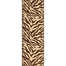 Leopard Print Runner Rug Animal Print Rugs