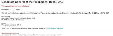 philippine passport renewal in dubai ab and me