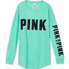 secret blouses open back varsity crew pink from s secret